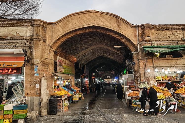 بازار قدیمی شاهپور