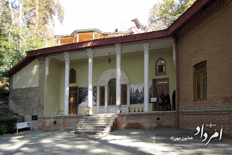کاخ سبز (رضاشاه) در کاخ موزه سعدآباد