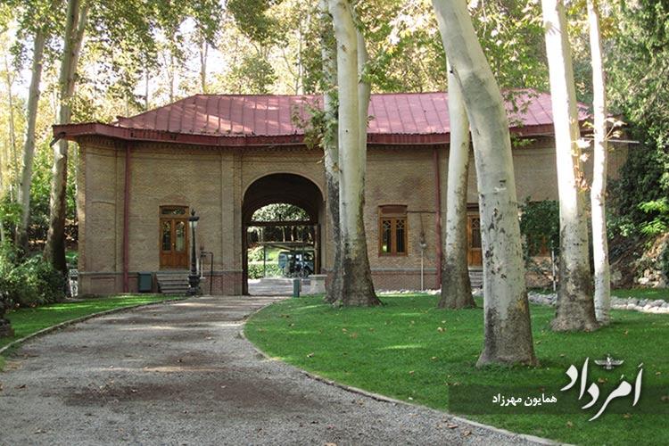 ورودی شمالی کاخ موزه سعدآباد
