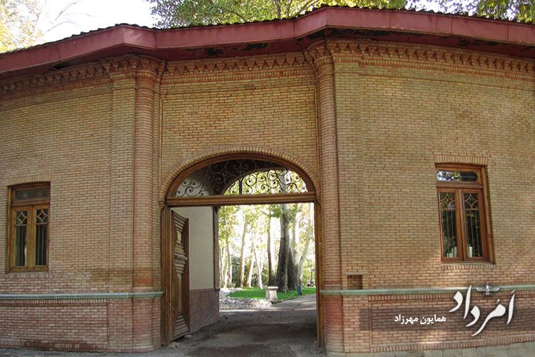 ورودی غربی کاخ موزه سعدآباد