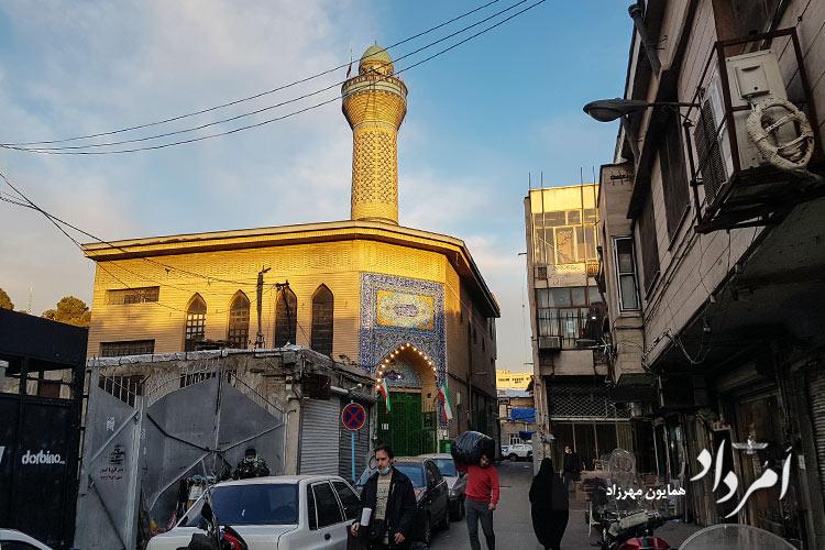 مسجد امام حسن مجتبی (ع) در محله باب همایون