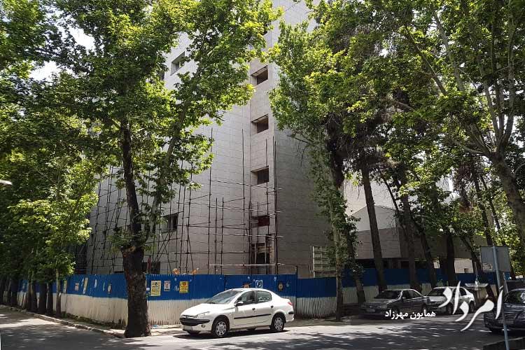 بیمارستان جدید هدایت درحال ساخت- محله دروس