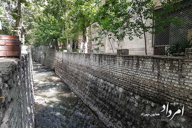 کانال رودخانه محله دروس