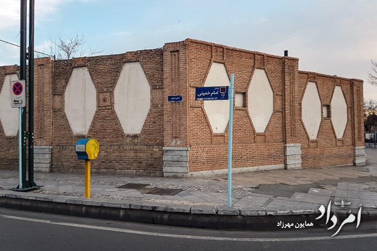 قورخانه از سمت خیابان امام خمینی