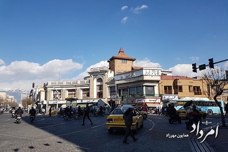 تقاطع جمهوری - سعدی