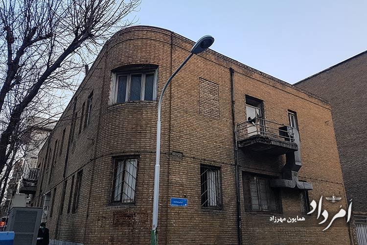 خیابان ارباب جمشید محله منوچهری