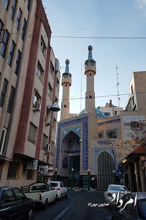 مسجد الرحمن محلهی سپهبد قرنی