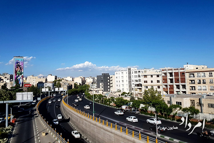 بزرگراه شید گمنام به جلال آل احمد