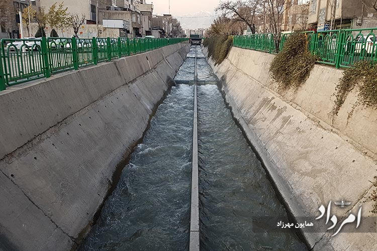 مسیل رودخانه نارمک