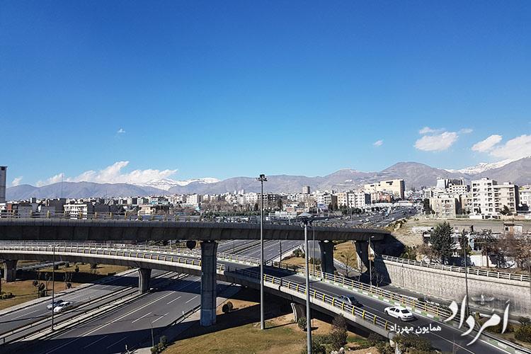 دورنمای محله طرشت تهران
