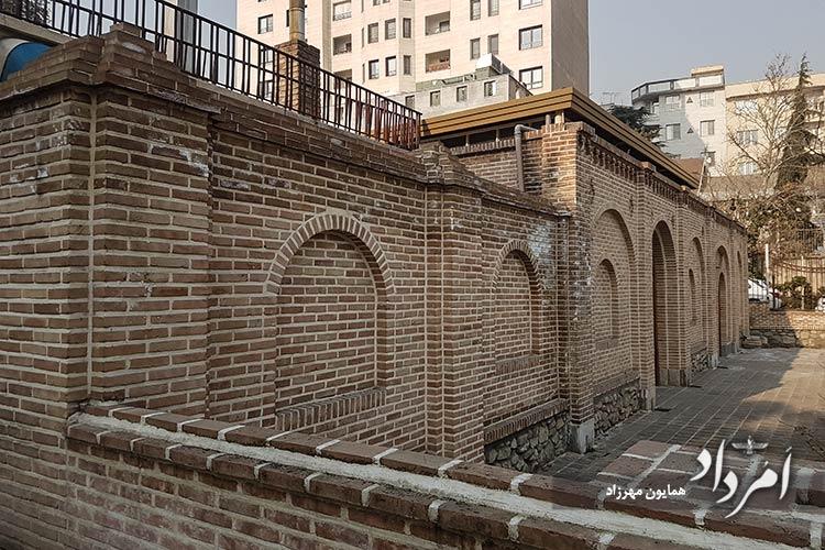 آسیاب آبی زمان قاجار محله یوسف آباد