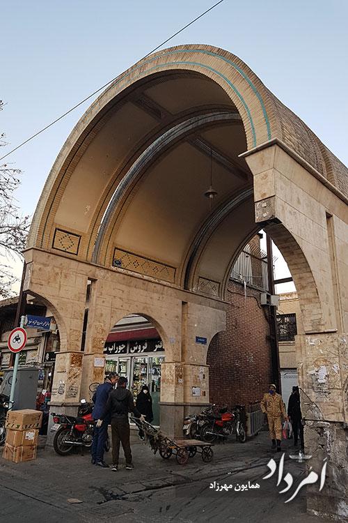 ورودی بازاره دروازه نو