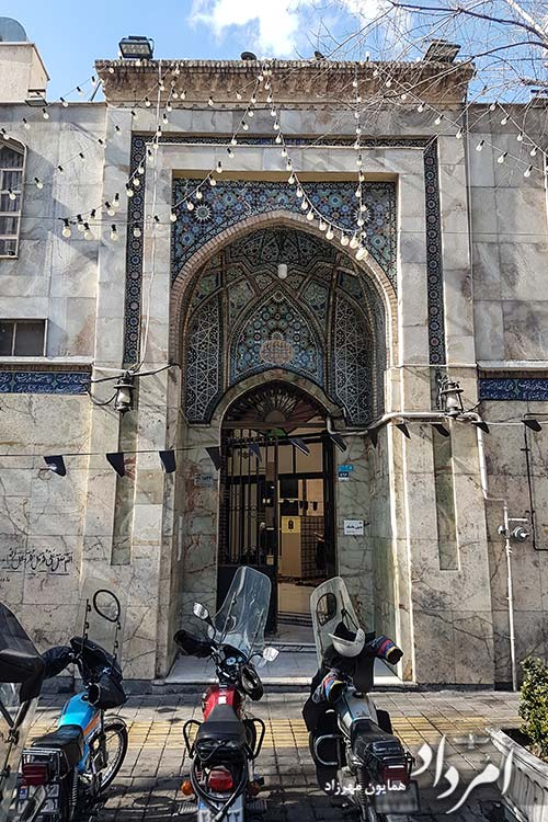 مسجد قدیمی قایم در خیابان سعدی