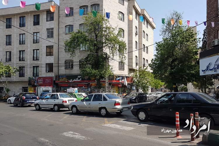 خیابان دولت محله قلهک