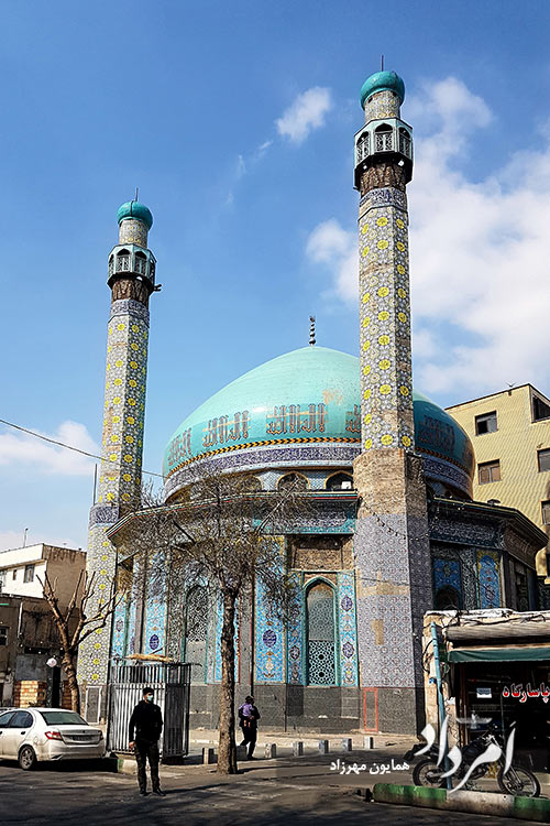 مسجد آیت الله فومنی در خیابان خراسان