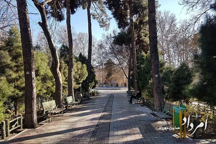بوستان شمشیری محله مهرآباد