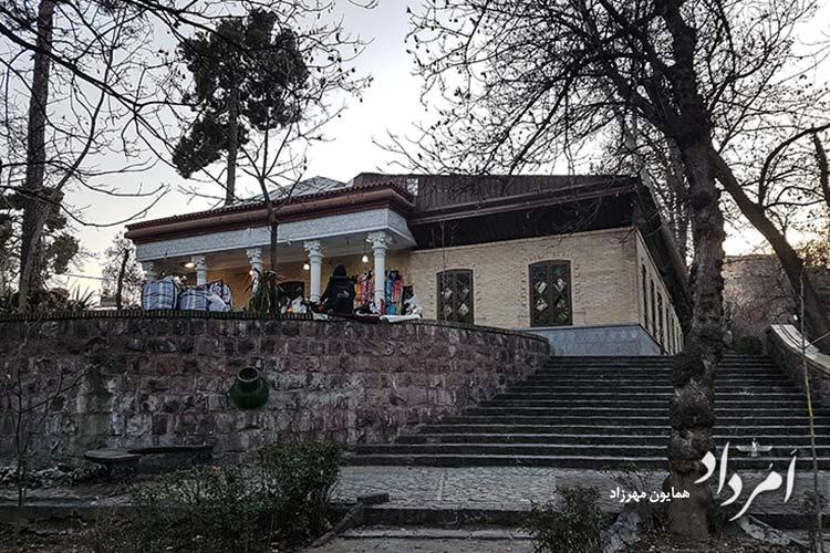 بنای تاریخی که پس از امیرکبیر ساخته شده در باغ ضل السلطان قاجاریه