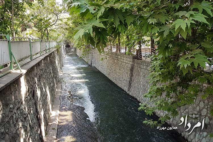رودخانه محله قلهک