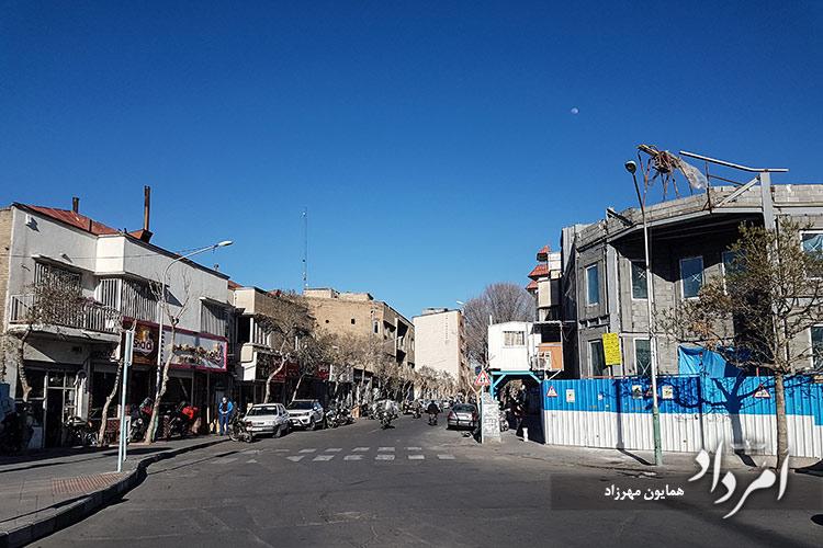 خیابان قدیمی مازندران