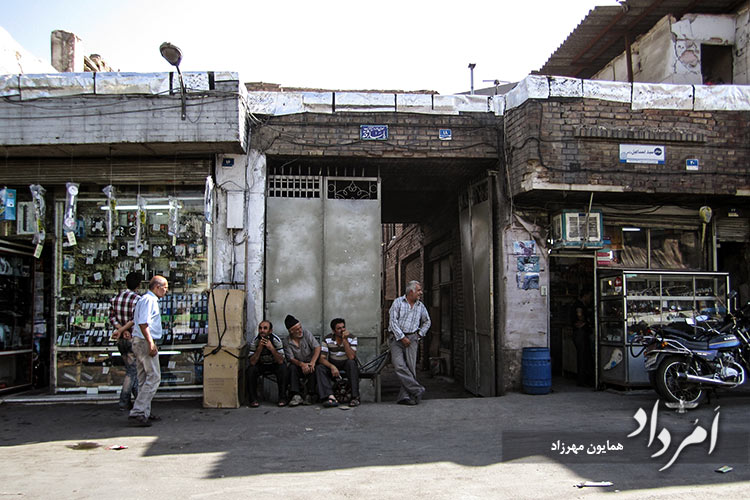گذر سیداسماعیل محله مولوی