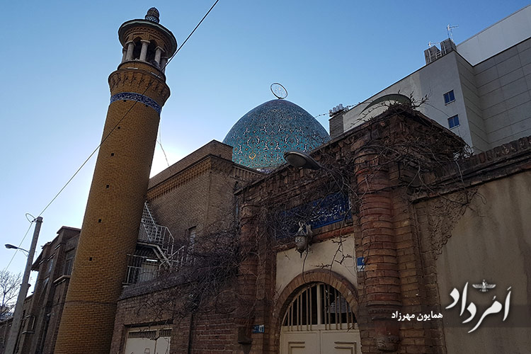 مسجد فخرالدوله محله پل چوبی