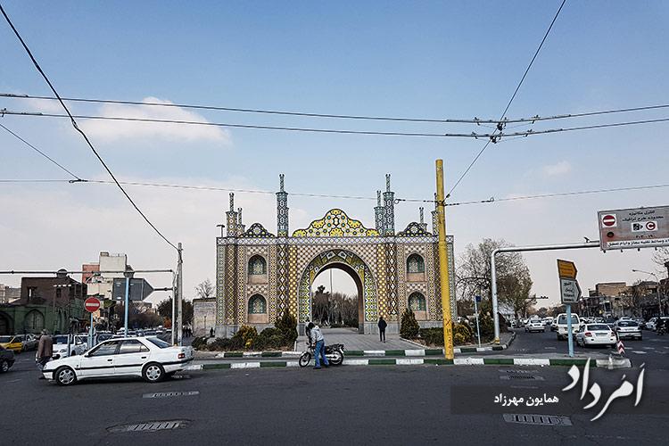 دروازه میدان شوش تهران