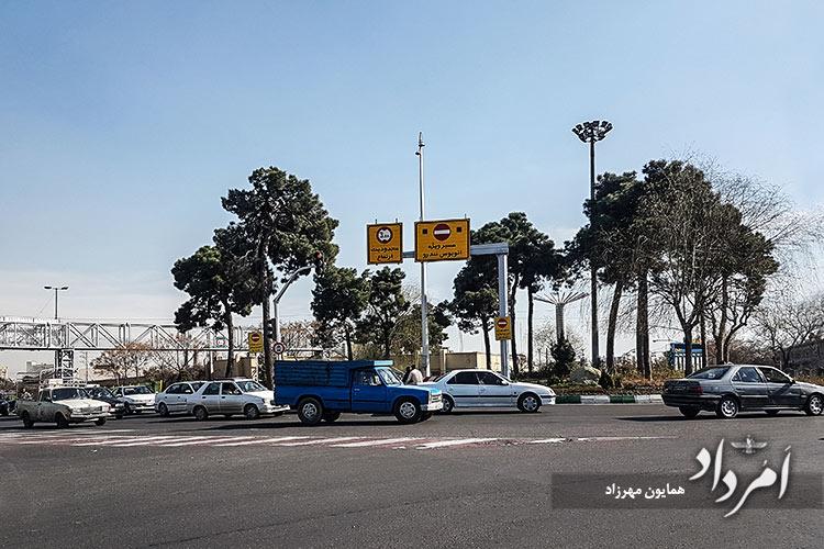 میدان بهمن (کشتارگاه پیشین) محله راه آهن