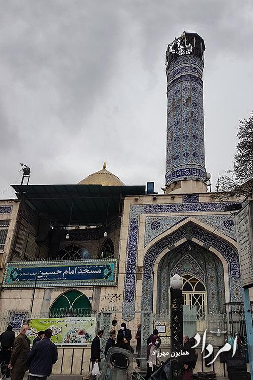 مسجد امام حسین (ع) محله مولوی 1330
