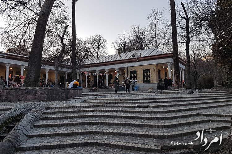 بنای تاریخی که پس از امیرکبیر ساخته شده در دوزران قاجاریه