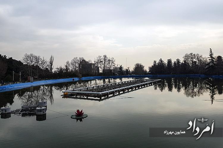 دریاچه مصنوعی پارک ملت