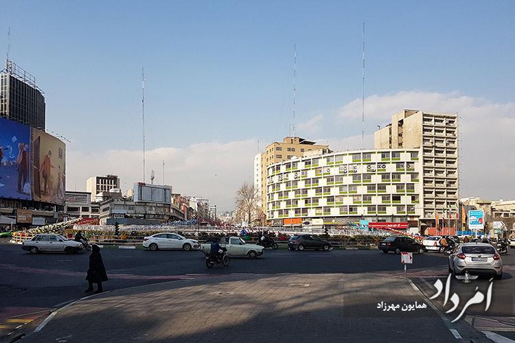 میدان ولیعصر تهران
