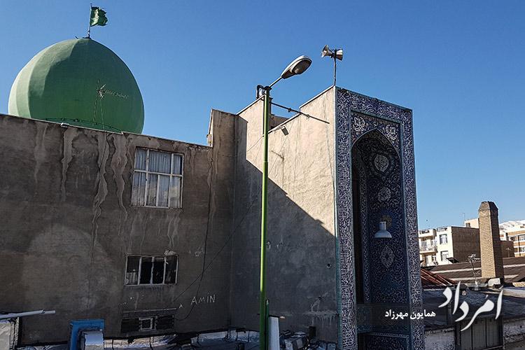 مسجد عمار یاسر مجاور پل چوبی