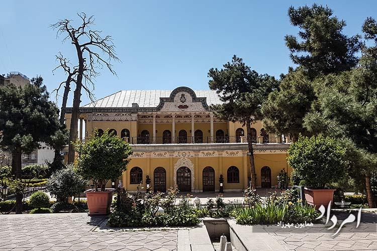 باغ وعمارت عین الدوله (نگارخانه برگ) زمان قاجاریه