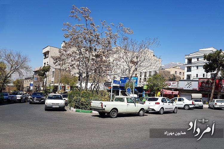 میدان حسین آباد محله هروی