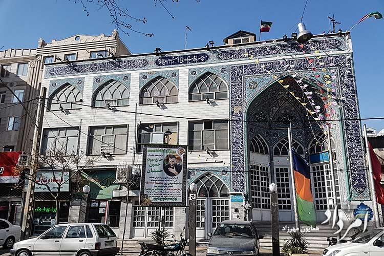 مسجد قمربنی هاشم (ع) در سی متری جی