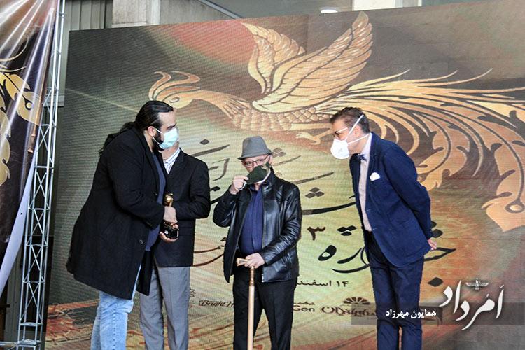 تقدیر از خانواده های شادروانان دکتر فقیهی و دکتر زارع جوشقانی