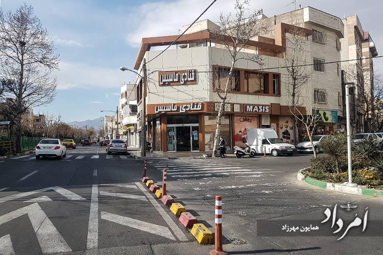 قنادی قدیمی ماسیس محله وحیدیه - نارمک جنوبی