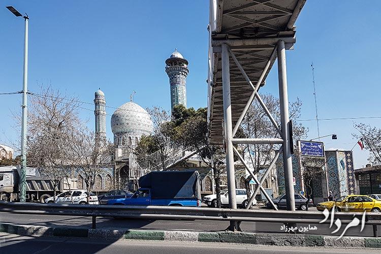 مسجد ولی الله اعظم محله نازی آباد