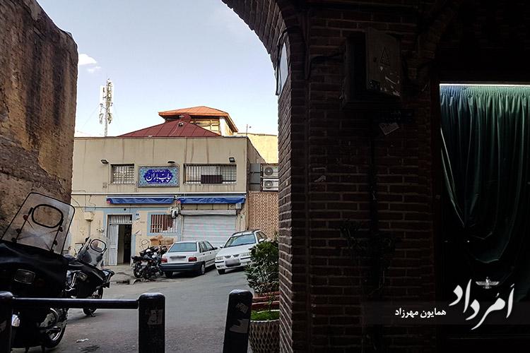 چاپ خانه ایران در بازارچه عودلاجان