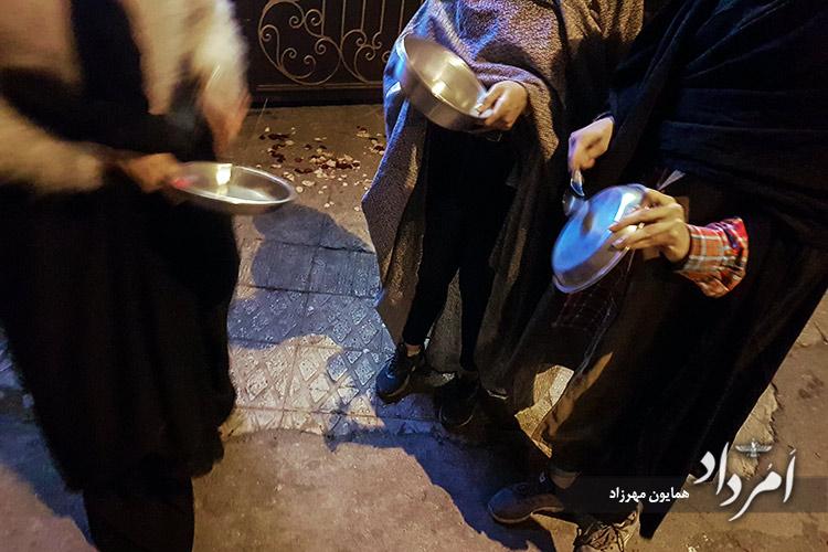آیین کهن قاشقزنی در چهارشنبهسوری
