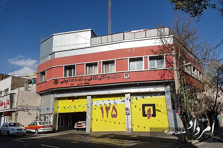 ایستگاه 85 آتش نشانی محله جی