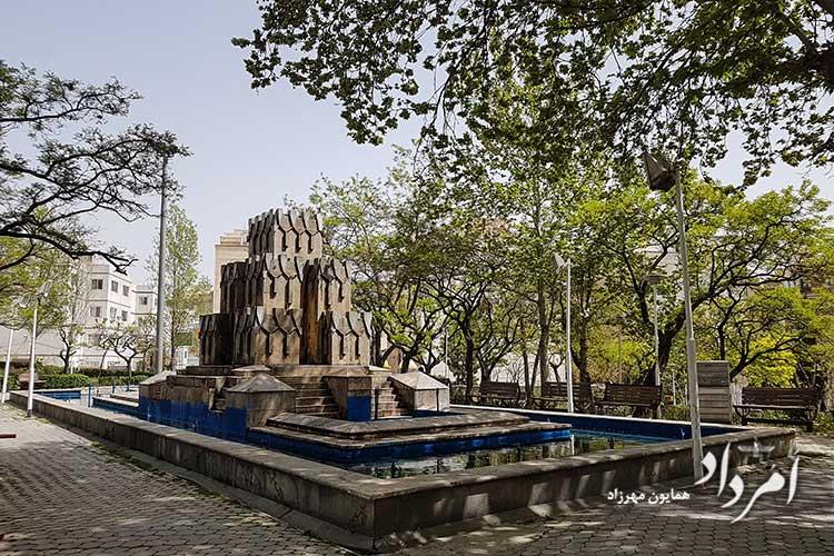 بوستان گلها محله امیرآباد