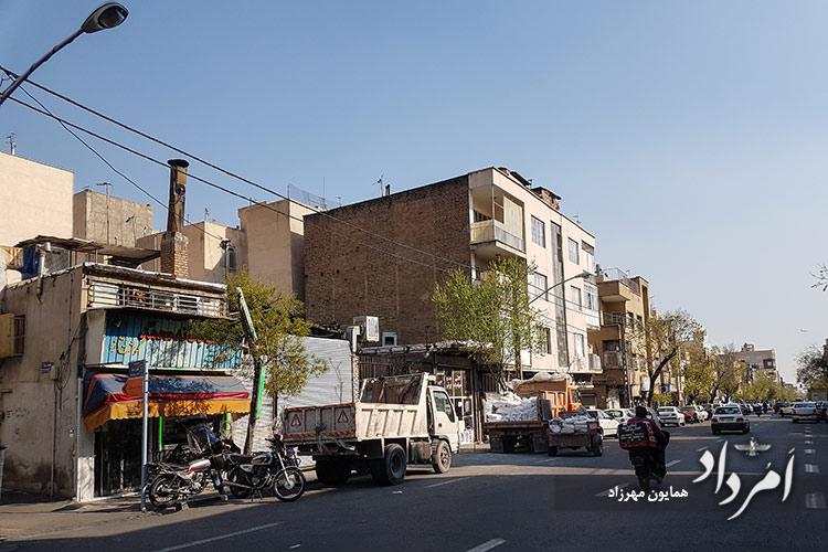خیابان قصرالدشت محله رودکی (سلسبیل)