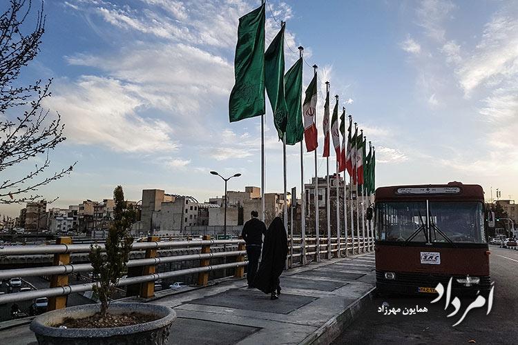 تقاطع سبلان و بزرگراه شهید صیاد شیرازی