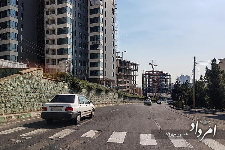 خیابان علامه طباطبایی جنوبی