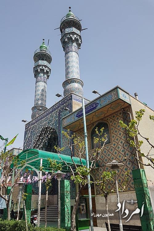 مسجد قدیمی نبی-امیرآبادشمالی