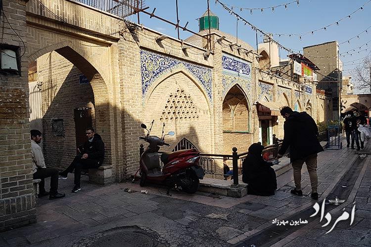 مسجد آقا محمود بازار مروی