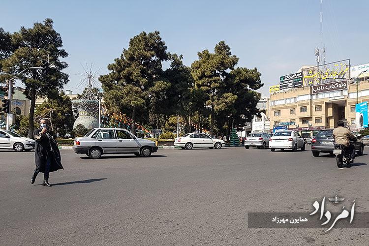 میدان کاج سعادت آباد