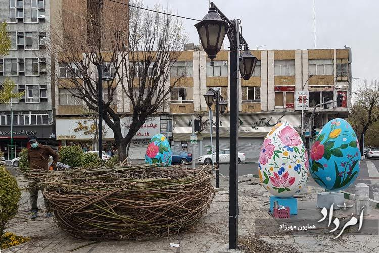 بلوار کشاورز تهران، نوروز1400 خورشیدی