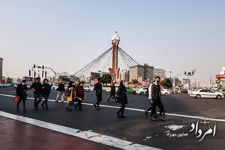 فلکه دوم صادقیه محله آریاشهر